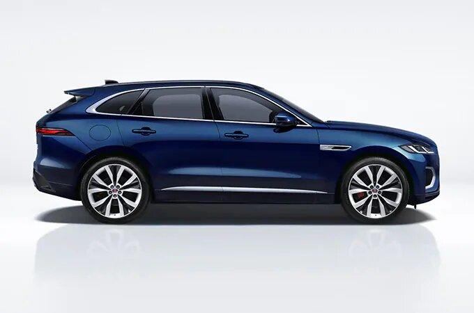Blue Jaguar F-Pace